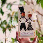 Unikatna čestitka za venčanja